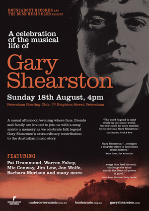 Shearston tribute concert