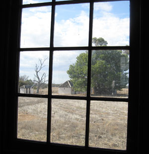 view from church window 2008